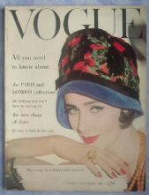 Vogue Magazine - 1960 - Early September